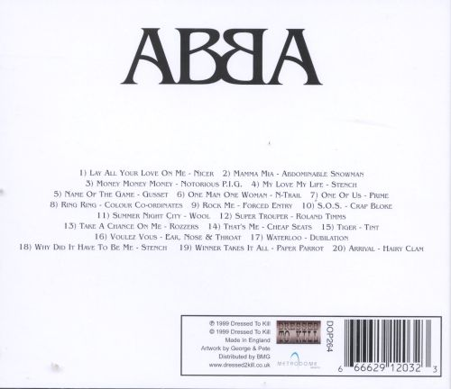 ABBA Gold Plated, Vol. 2: Tribute to ABBA