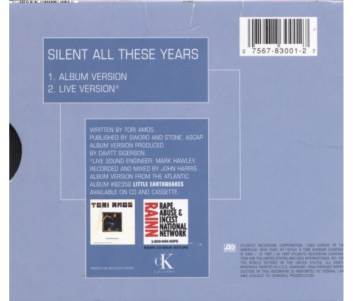 Silent All These Years [#2]