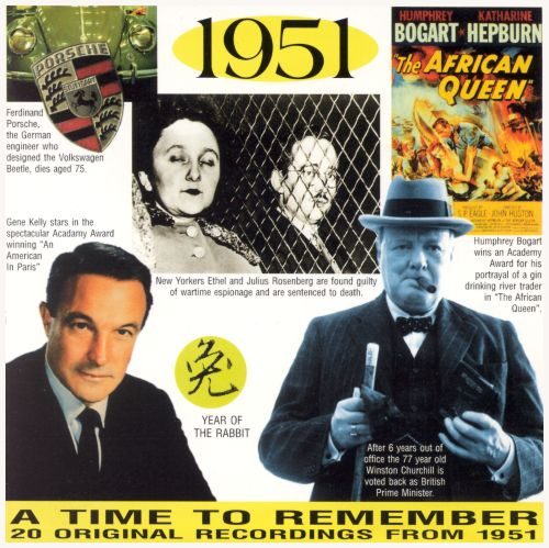 1951: A Time to Remember, 20 Original Chart Hits