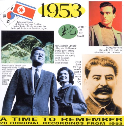 1953: A Time to Remember, 20 Original Chart Hits