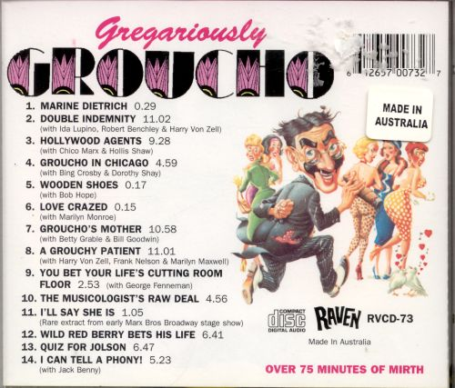 Gregariously Groucho