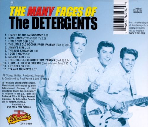 The Many Faces of the Detergents