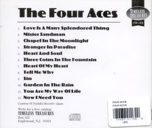 The Four Aces [Timeless]