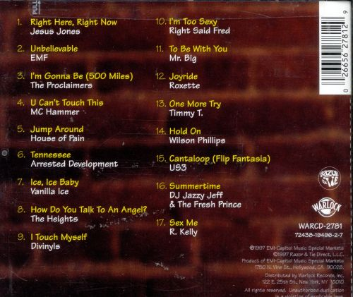 Living In The 90s : Living in the 90's [Warlock] - Various Artists  Songs ...