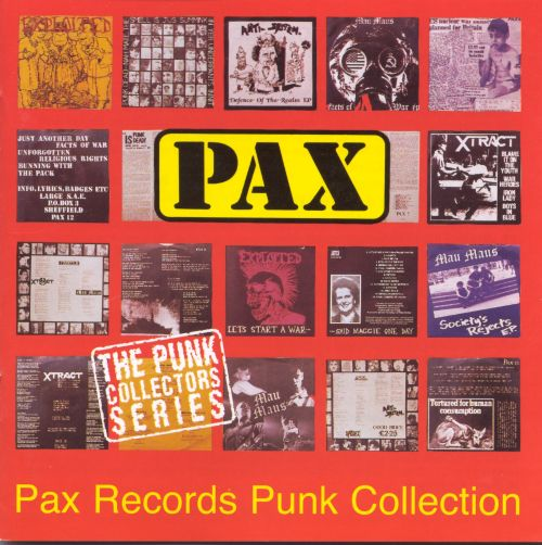 Pax Records Punk Singles Collections