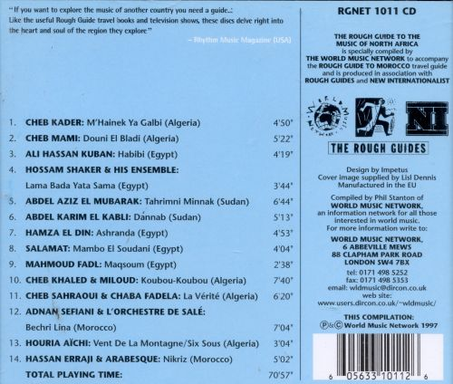 The rough guide to the music of sudan (cd, compilation) | discogs.
