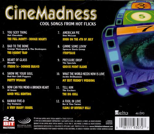 Cinemadness: Cool Songs From Hot Flicks