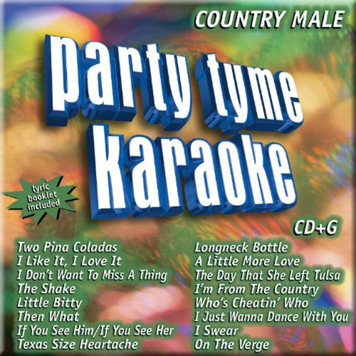 Party Tyme Karaoke: Country Male