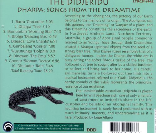 Didjeridu - Dharpa: Songs from Dreamtime