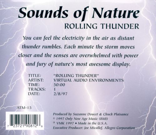 Sounds of Nature: Rolling Thunder