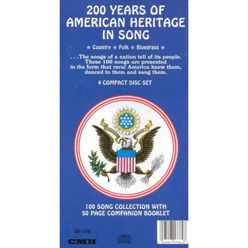 200 Years of American Heritage in Song: 100 Song Collection