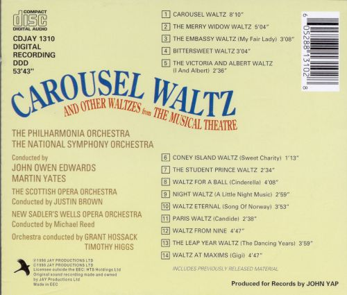 Carousel Waltz and Other Waltzes from the Musical Theatre
