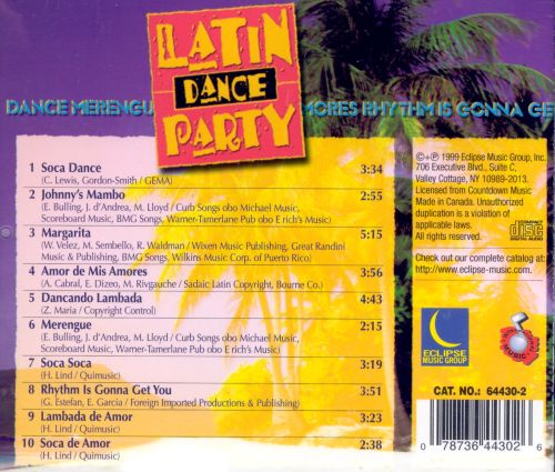 Latin Dance Party [Eclipse]