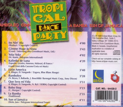 Tropical Dance Party [Eclipse]