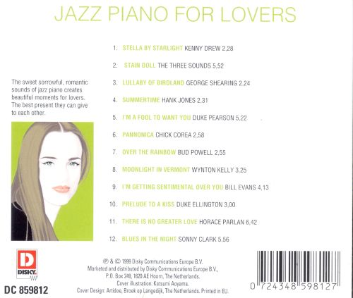 Jazz Piano for Lovers [Discom]