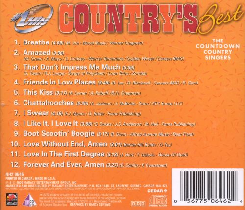 Hot Hits: Country's Best