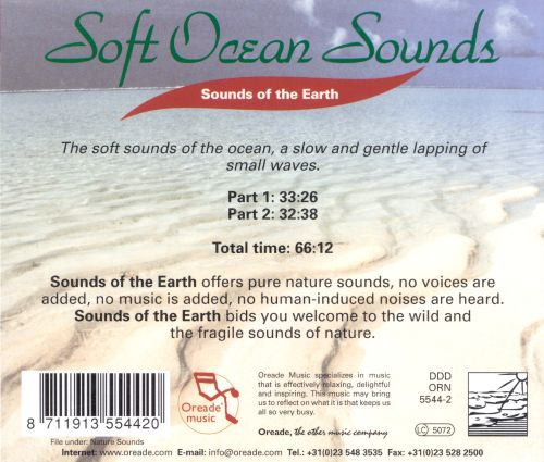 Sounds of the Earth: Soft Ocean Sounds