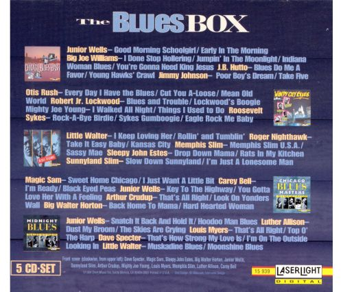 The Blues Box [Laserlight]