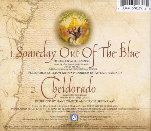 Someday out of the Blue [CD5/Cassette Single]