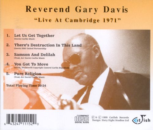 Live at Cambridge 1971
