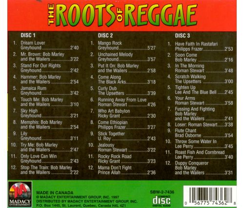 The Roots of Reggae [Madacy]