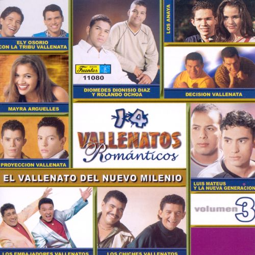 14 Vallenatos Romanticos, Vol. 3