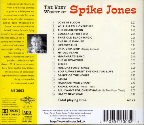 The Very Worst of Spike Jones
