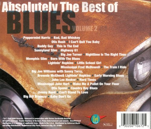 Absolutely the Best of the Blues, Vol. 2