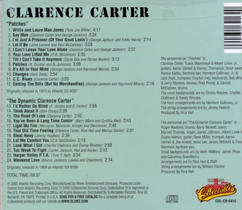 Patches/The Dynamic Clarence Carter