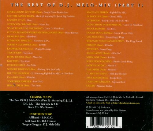 The Best of DJ Melo-Mix, Pt. 1: Ride or Die