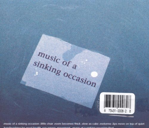Music of a Sinking Occasion