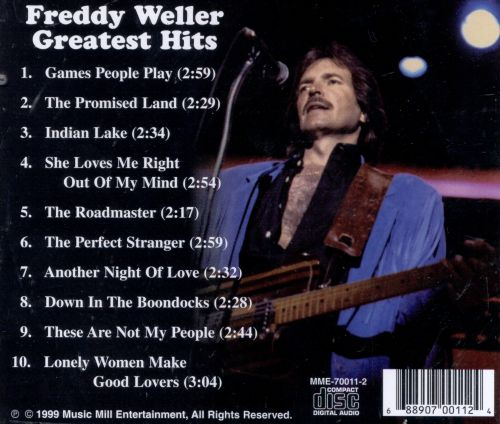 Freddy Weller's Greatest Hits [Roquero]
