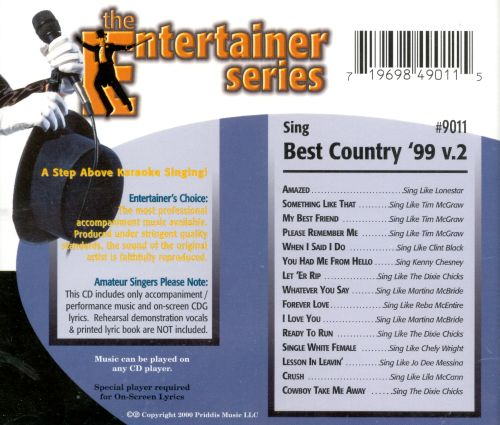 Sing Best Country '99: Vol. 2