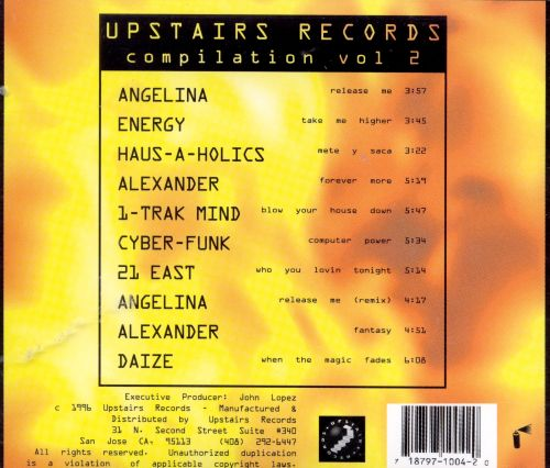 Upstairs Records Compilation, Vol. 3