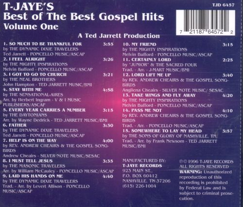 The Best of the Best Gospel Hits