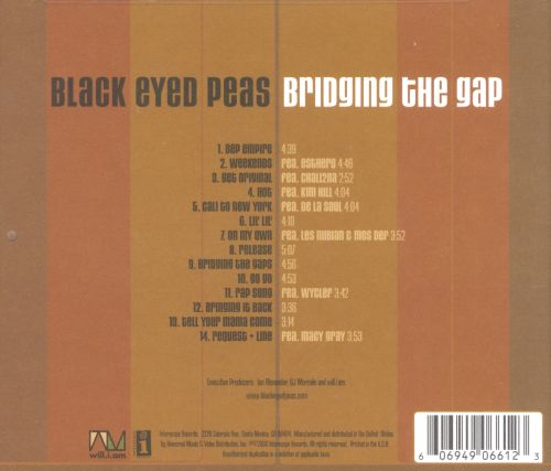 Bridging the Gap - The Black Eyed Peas | Songs, Reviews ...