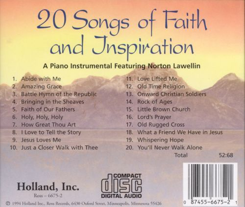 20 Songs of Faith and Inspiration