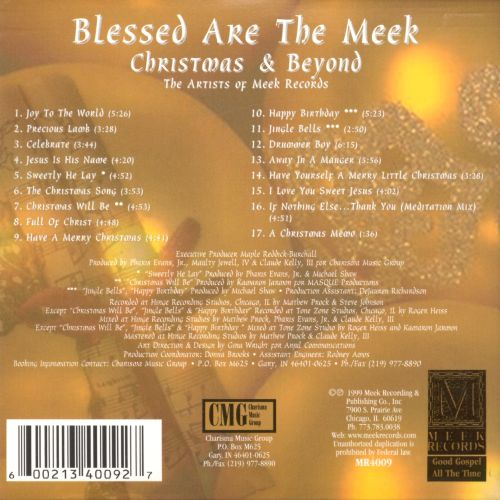 Blessed Are the Meek: Christmas & Beyond