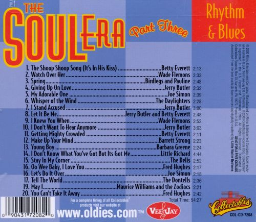 Vee Jay Rhythm & Blues: The Soul Era, Pt. 3