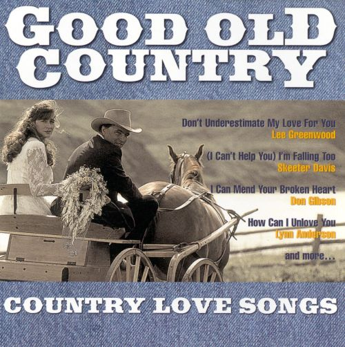 Good old country love songs