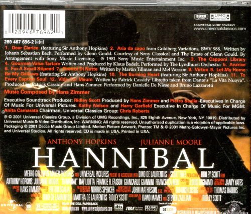 Hannibal [Original Motion Picture Soundtrack]