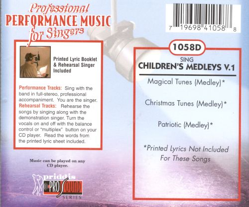 Sing Children's Medleys Vol. 1