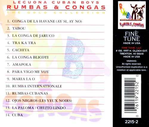 Rumbas & Congas: Gold Collection