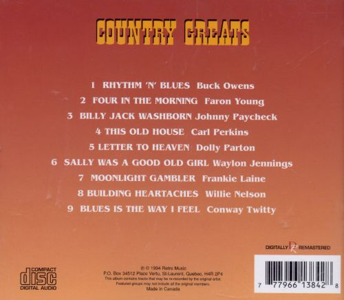 Country Greats [Prime Cuts]
