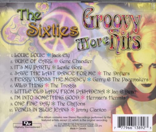 Sixties: More Groovy Hits