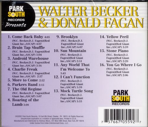Walter Becker & Donald Fagan