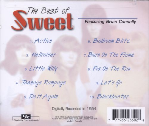 The Best of Sweet [Prime Cuts]