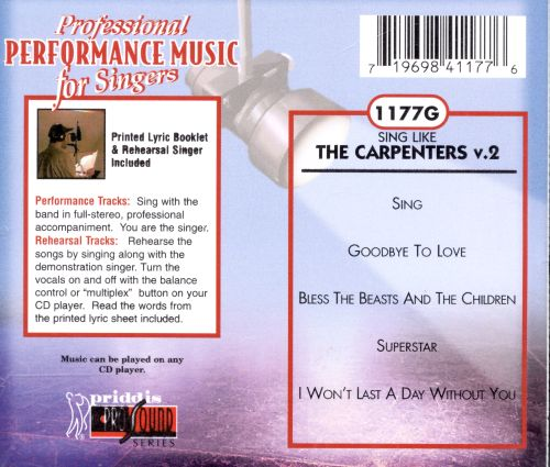 The Carpenters, Vol. 2 [Priddis]