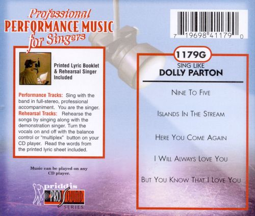 Sing Like Dolly Parton