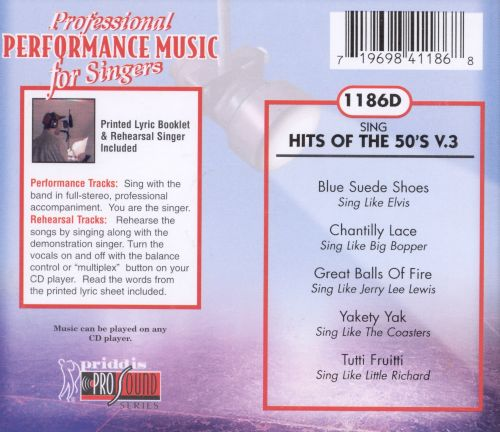 Sing Hits of the 50's Vol. 3